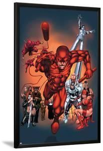 The Official Handbook Of The Marvel Universe: Daredevil 2004 Cover: Daredevil by Salvador Larroca