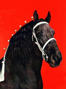 """""""Prize Draft Horse,""""September 1, 1944 by Salvadore Pinto"""
