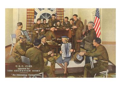 Salvation Army, USO Club--Art Print