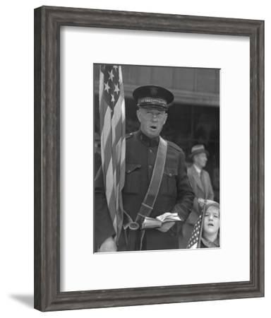 Salvation Army-Dorothea Lange-Framed Art Print