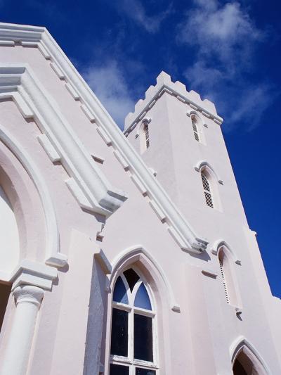 Salvation Church in St. George in Bermuda-Richard Cummins-Photographic Print