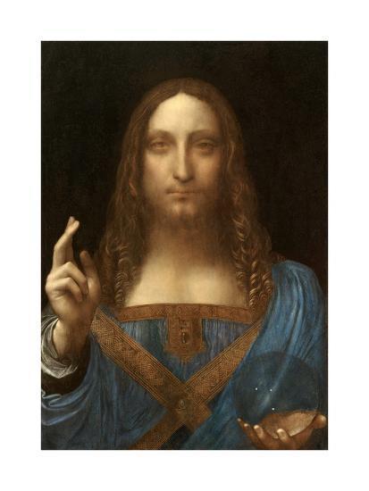 Salvator Mundi-Leonardo Da Vinci-Art Print