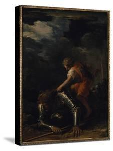 David and Goliath by Salvator Rosa