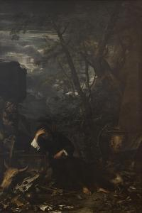 Demokritus in Meditation, 1650-51 by Salvator Rosa