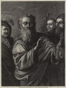 Diogenes Seeking for an Honest Man by Salvator Rosa