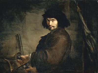 Self-Portrait Dressed as Warrior
