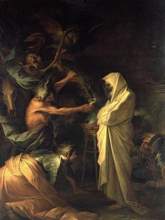 The Spirit of Samuel Appearing to Saul at the House of the Witch of Endor, 1668