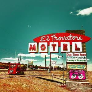 1950's Motel Signage in USA by Salvatore Elia