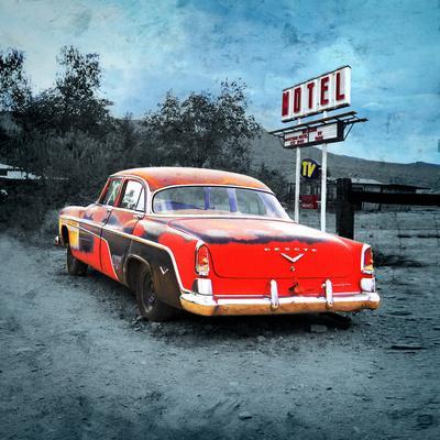 Classic Desoto Vintage Car in America
