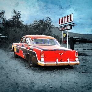 Classic Desoto Vintage Car in America by Salvatore Elia