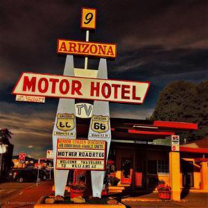 Retro Americana Street Signage by Salvatore Elia