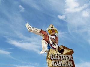 Singage in USA Glitter Gulch by Salvatore Elia