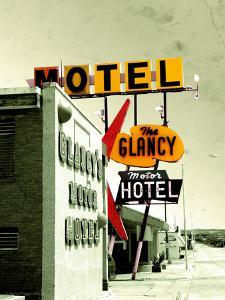 Street Sign for Hotel and Motel in America by Salvatore Elia