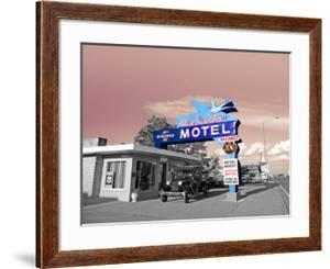 Vintage Neon Motel Sign in America by Salvatore Elia