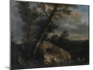 Sea Landscape with Robbers by Salvatore Rosa