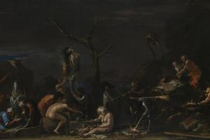 Witches at their Incantations, C. 1646 by Salvatore Rosa