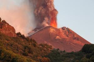 Italy, Sicily, Mt. Etna, Dawn by Salvo Orlando