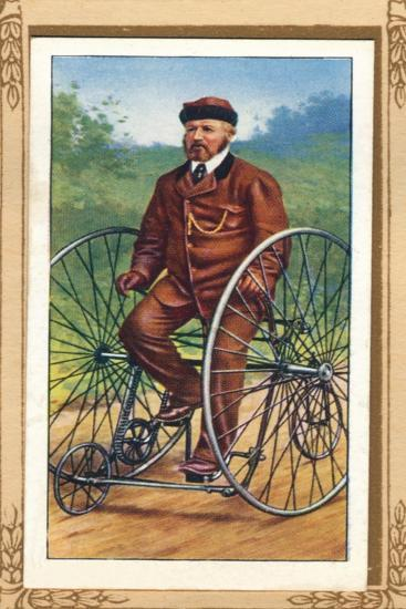 Salvo Tricycle', 1939-Unknown-Giclee Print