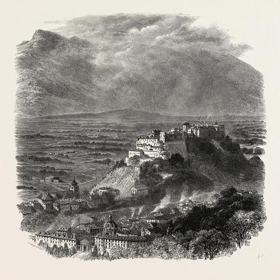 Salzburg, Austria, 19th Century--Giclee Print