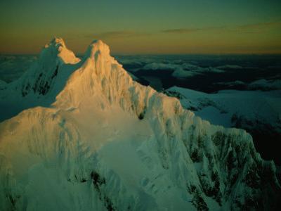 Aerial View of Mount Sarmiento