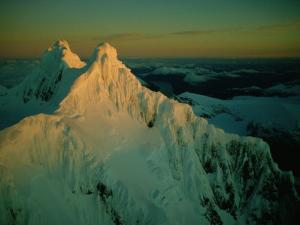 Aerial View of Mount Sarmiento by Sam Abell