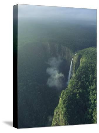 Aerial View of Wallaman Falls