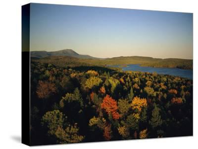 Autumn View across Baxter State Park, Maine