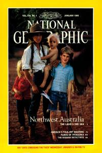 Cover of the January, 1991 National Geographic Magazine by Sam Abell