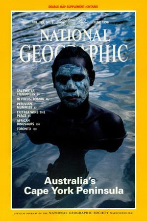 Cover of the June, 1996 National Geographic Magazine