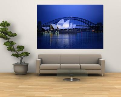 Harbor and Sydney Opera House