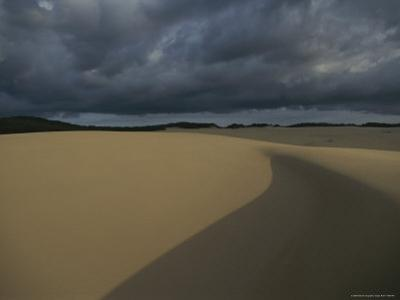 Sand Dunes on Fraser Island by Sam Abell