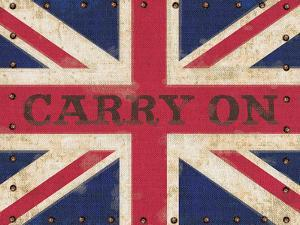 Carry on Union Jack by Sam Appleman