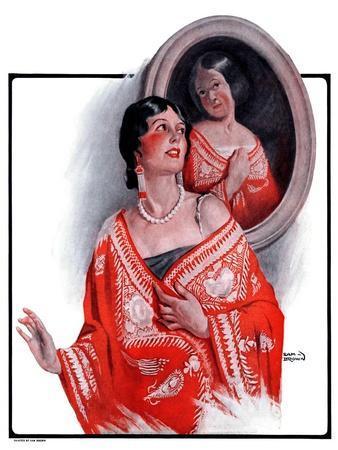 """Ancestral Shawl,""October 18, 1924"