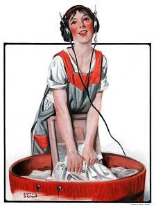 """""""Radio Daze,""""October 4, 1924 by Sam Brown"""