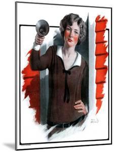 """School Bells Ring,""September 6, 1924 by Sam Brown"
