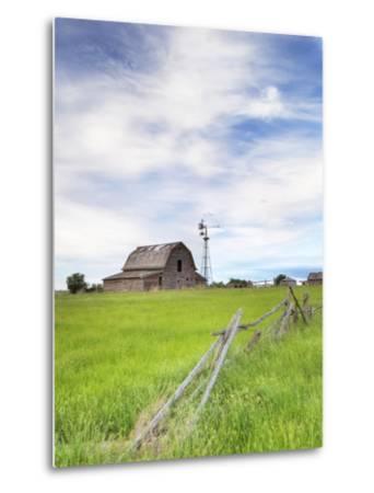 Abandoned Barn, Near Leader, Saskatchewan, Canada
