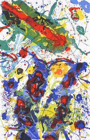 Untitled, c.1989 L 282/SF 341 by Sam Francis