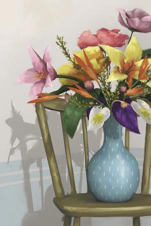 Cozumel Floral - Focus