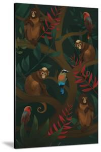 Primate Posse by Sam Kemp