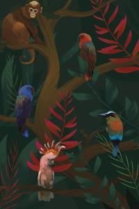 Tropical Troupe by Sam Kemp