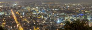 Hyper Resolution Photograph of Bogota, Columbia at Night by Sam Kittner