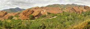 Hyper-Resolution View of Red Rocks Park by Sam Kittner