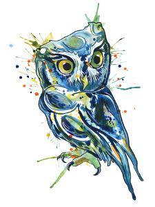 Blue Owl by Sam Nagel