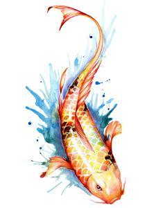 Koi Fish 2 by Sam Nagel