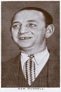 Sam Russell, British Boxing Manager, 1938
