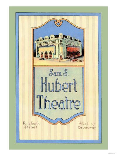 Sam S. Hubert Theatre--Art Print