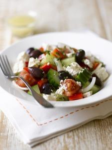 Greek Salad by Sam Stowell