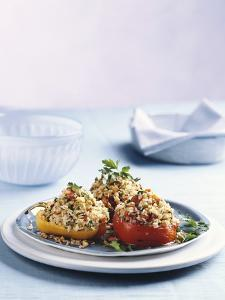 Stuffed Peppers with Rice Filling by Sam Stowell
