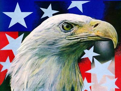 """Sam the American Eagle,""July 1, 1939-Arthur H. Fisher-Giclee Print"