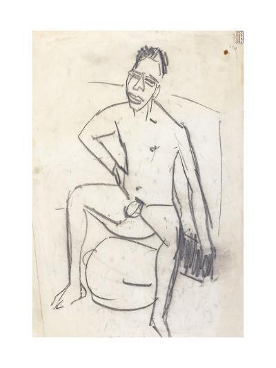 Sam the Negro (verso)-Ernst Ludwig Kirchner-Giclee Print